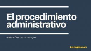 procedimiento administrativo