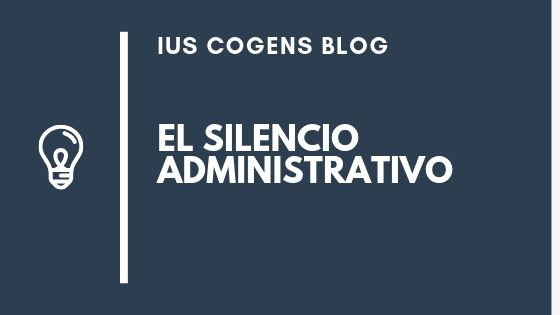 El silencio administrativo en la ley 39/2015