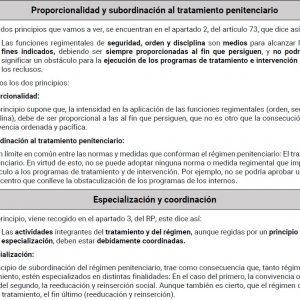 Temas 5 a 8 de Derecho Penitenciario